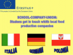 Project: School-Company-Union project